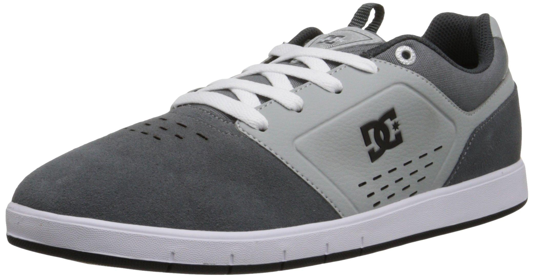 DC Men's Cole Signature Skate Shoe, Grey, 7.5 M US