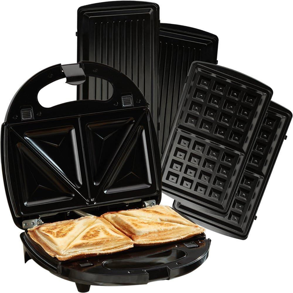 SANDWICH MAKER TOASTER Waffle Iron Grill Panini Toastie