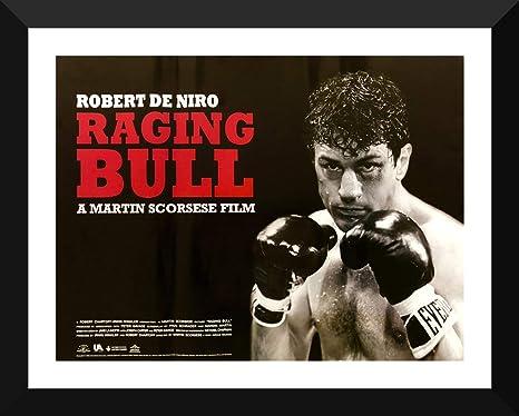 RAGING BULL Movie PHOTO Print POSTER Textless Film Art Robert De Niro Scorsese 1