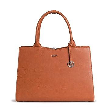 da4961cc329 Straight Line SOCHA as Straight Line Cognac Designer Business Bag for Women  Laptop 15.6 SLIM RAZOR LED DISPLAY PANEL  Amazon.co.uk  Computers    Accessories