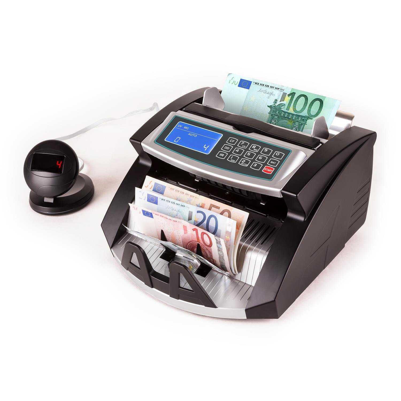Oneconcept Buffett • Contador de Billetes • Detector de Billetes Falsos • Reconocimiento UV, magnético e infrarrojo • 1000 Billetes por Minuto • Inicio ...