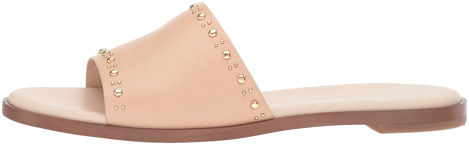 Cole Haan Women's Anica Stud Slide Sandal B06Y6QX5TH 6 B(M) US|Nude Leather