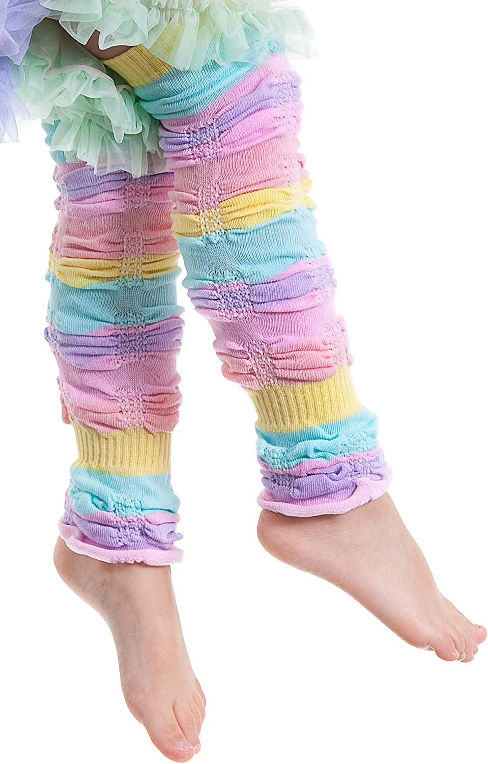 Child/'s Leg Warmers in Candy Print