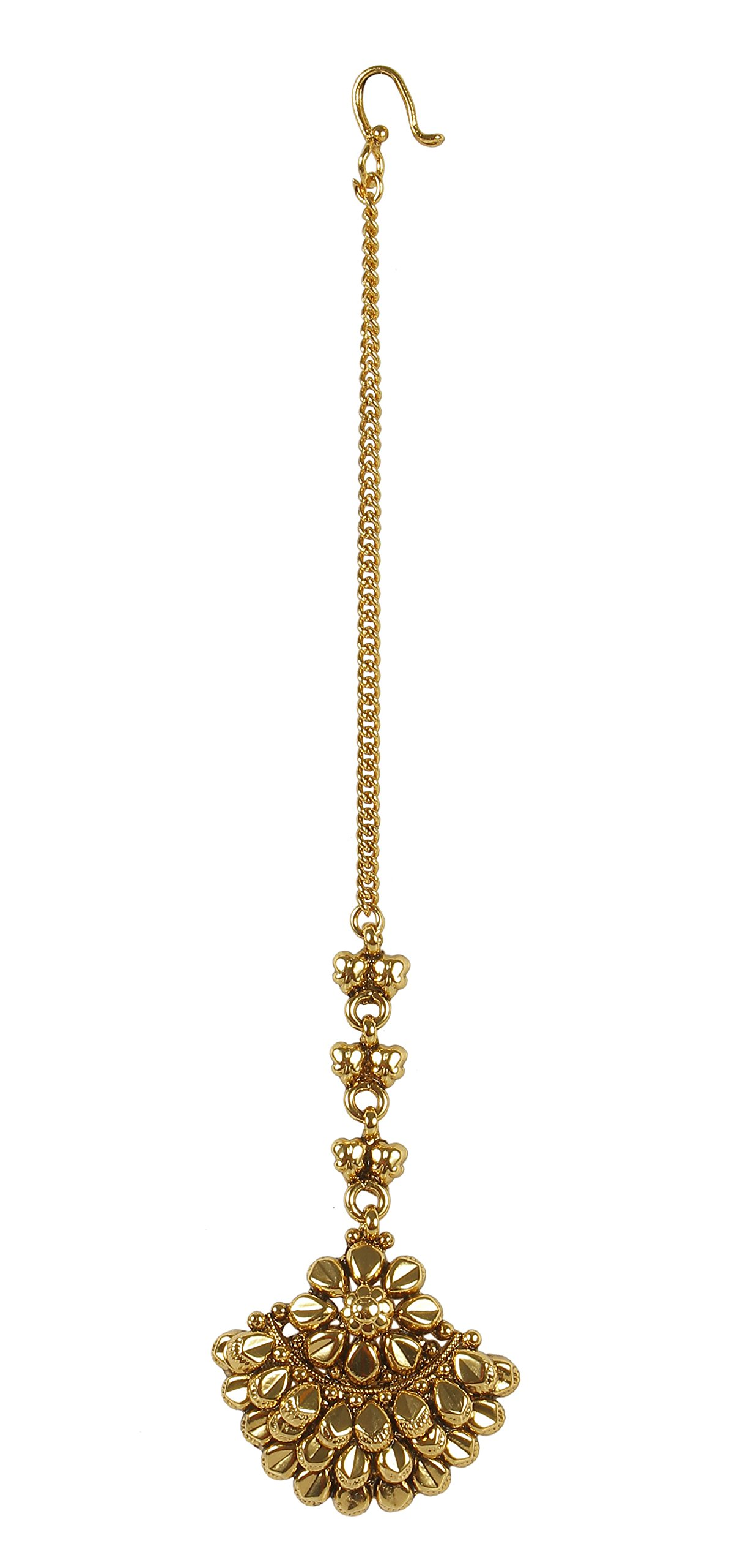 MUCH-MORE Indian Glamorous Style Party wear Maang Tikka Forehead Traditional Jewelry (2228)