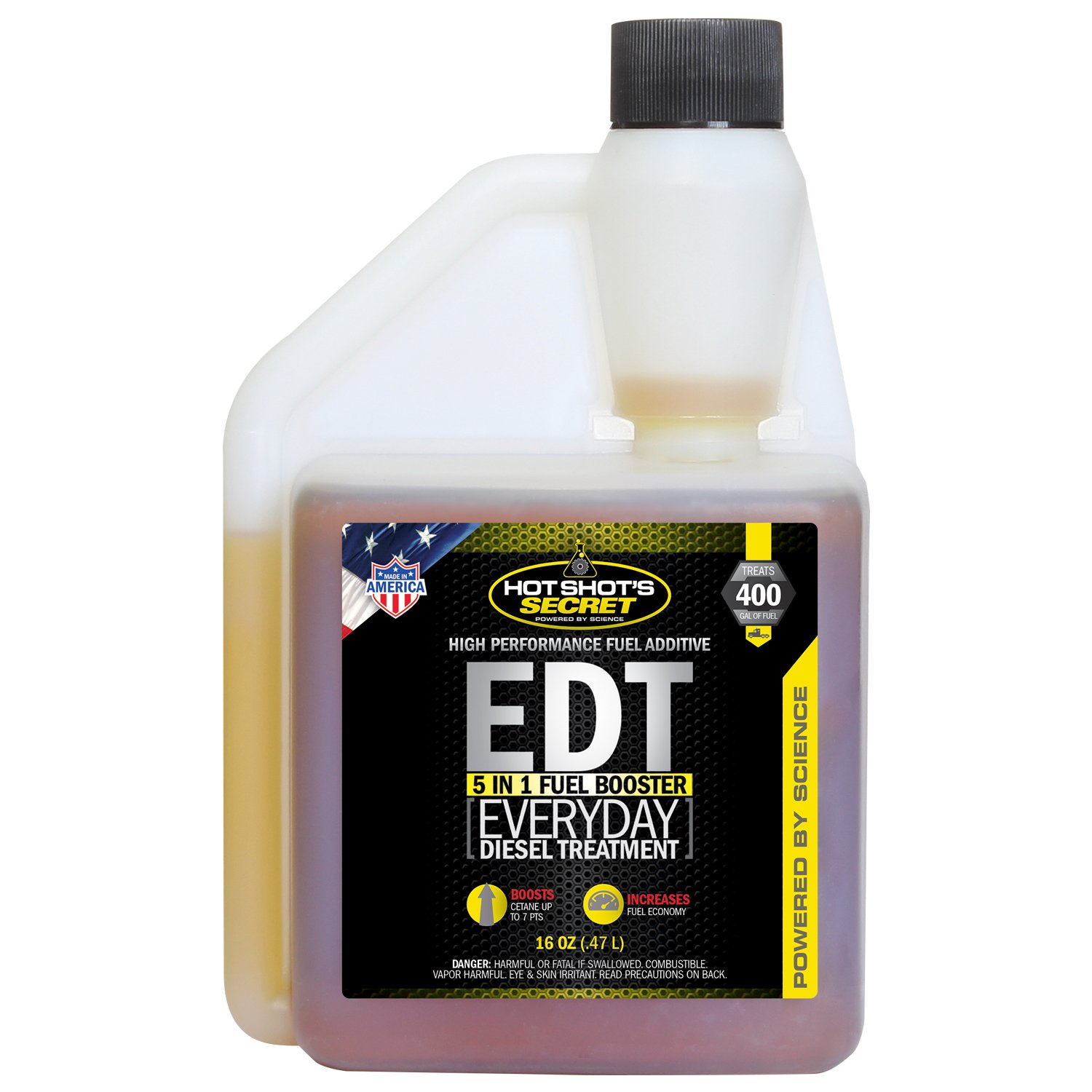 Hot Shot's Secret HSSEDT16ZS Everyday Diesel Treatment - 16 fl. oz.