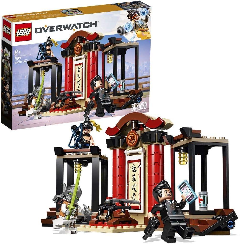 LEGO 75971 Overwatch Hanzo & Genji Building Kit, Multicolour