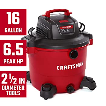 Craftsman CMXEVBE17595 Shop Vac for Dust Collection