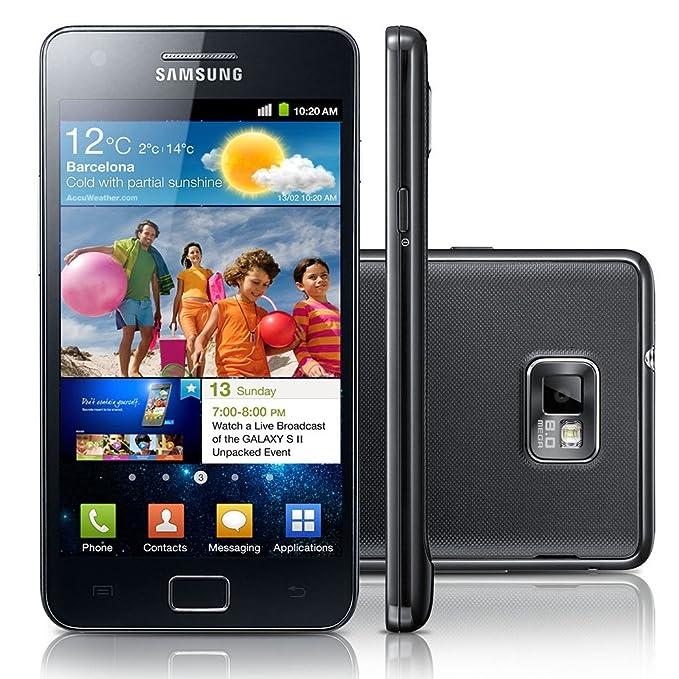 Amazon com: Samsung Galaxy S II GT-I9100 Unlocked Phone with