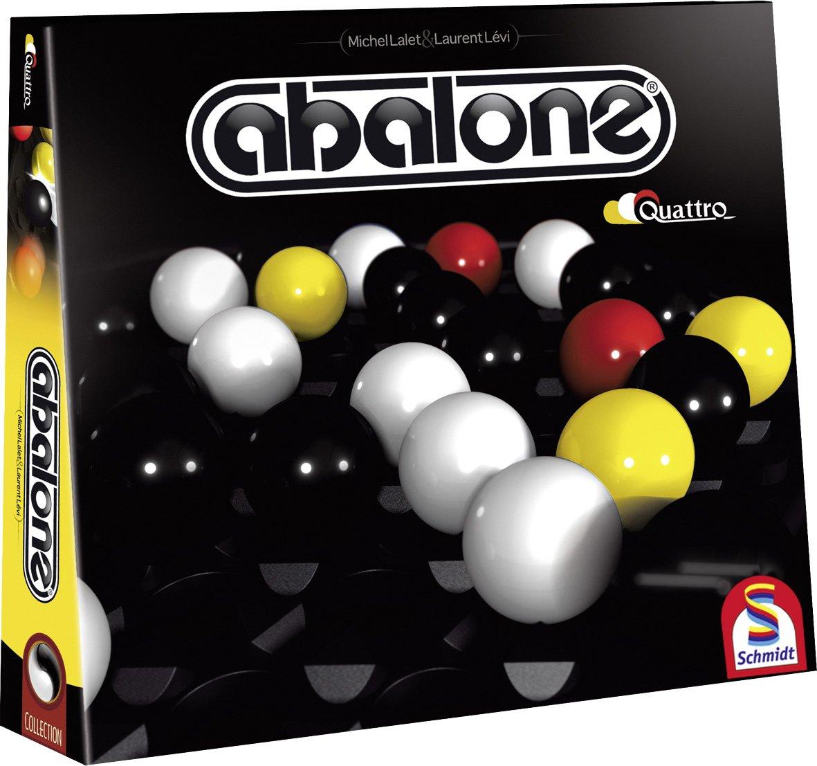 Schmidt Spiele 49297 - Abalone Quattro, Strategiespiel