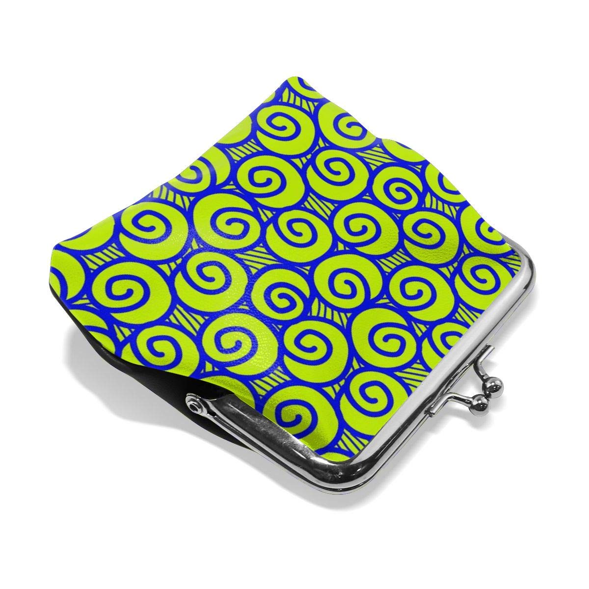 Girl Green Snail Buckle Coin Purses Vintage Wallet