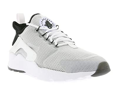 nike huarache ultra white and black