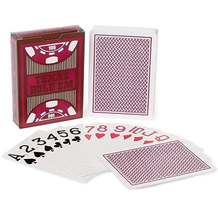 Barajas de Cartas de Póker de Plástico Impermeables, Juego ...