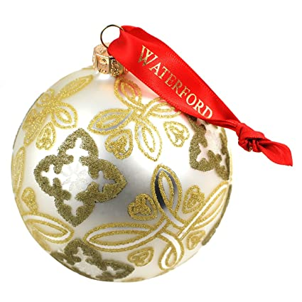 Waterford Christmas Ornaments.Waterford Holiday Heirloom Silver Celtic Knot Ball Ornament