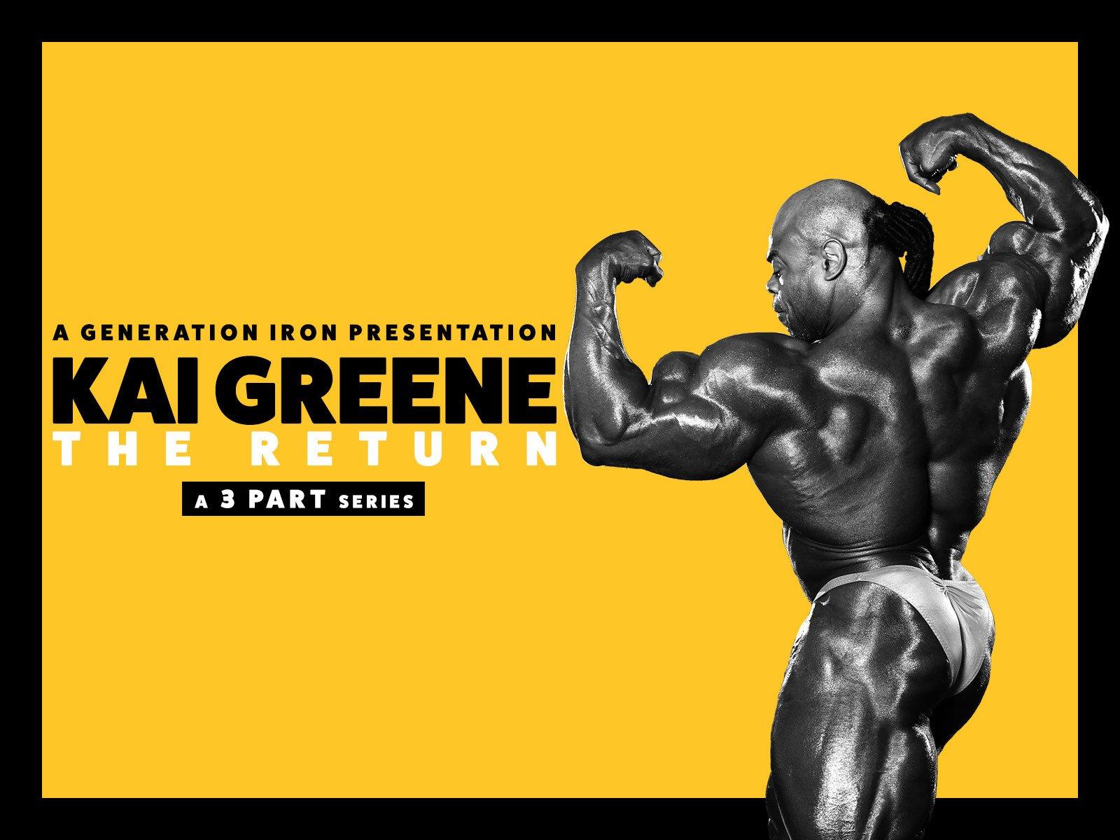 Watch Kai Greene The Return Prime Video