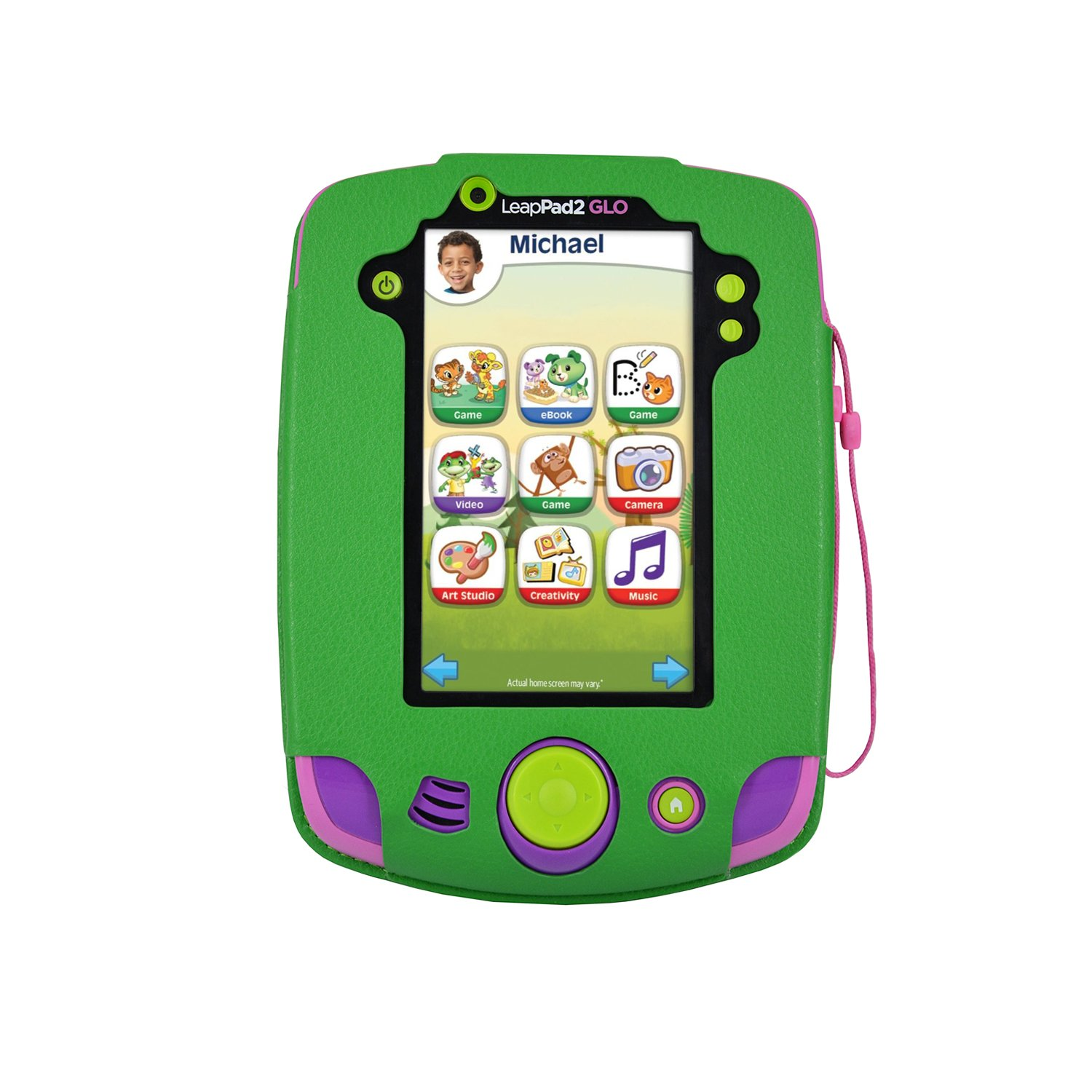 Details about PU Leather Cover Case for LeapFrog LeapPad Glo Kids Learning  Tablet, Green