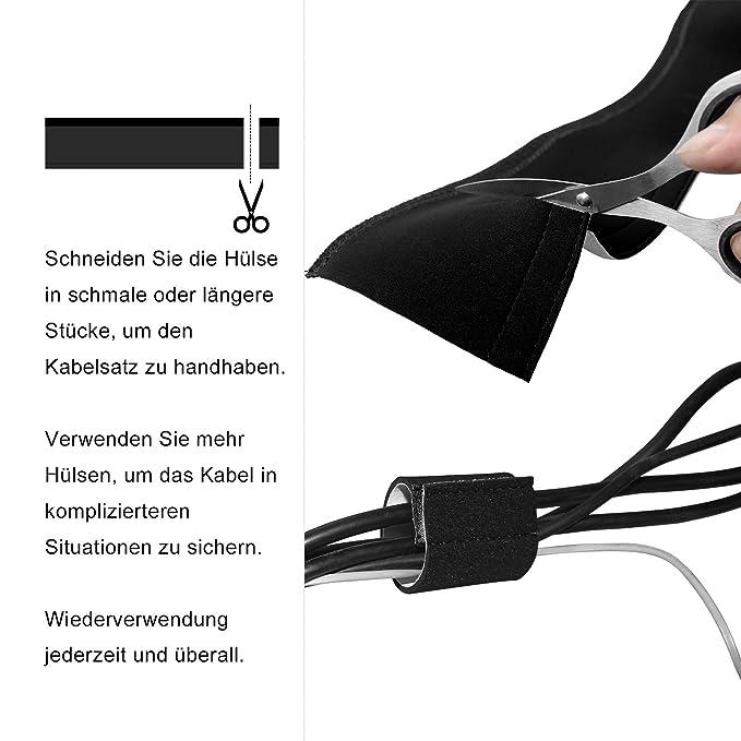 StillCool Kabelschlauch Kabelmanagement Neoprene Klettverschluss ...