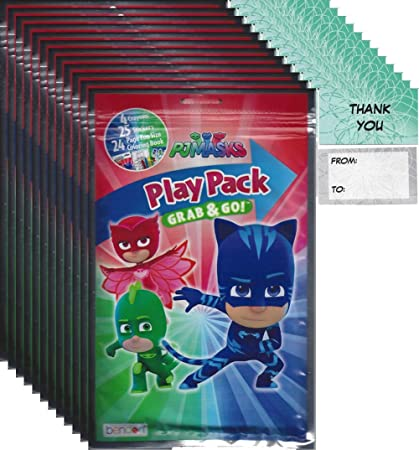 Amazon.com: PJ Masks Grab n Go Play Packs (12 unidades ...