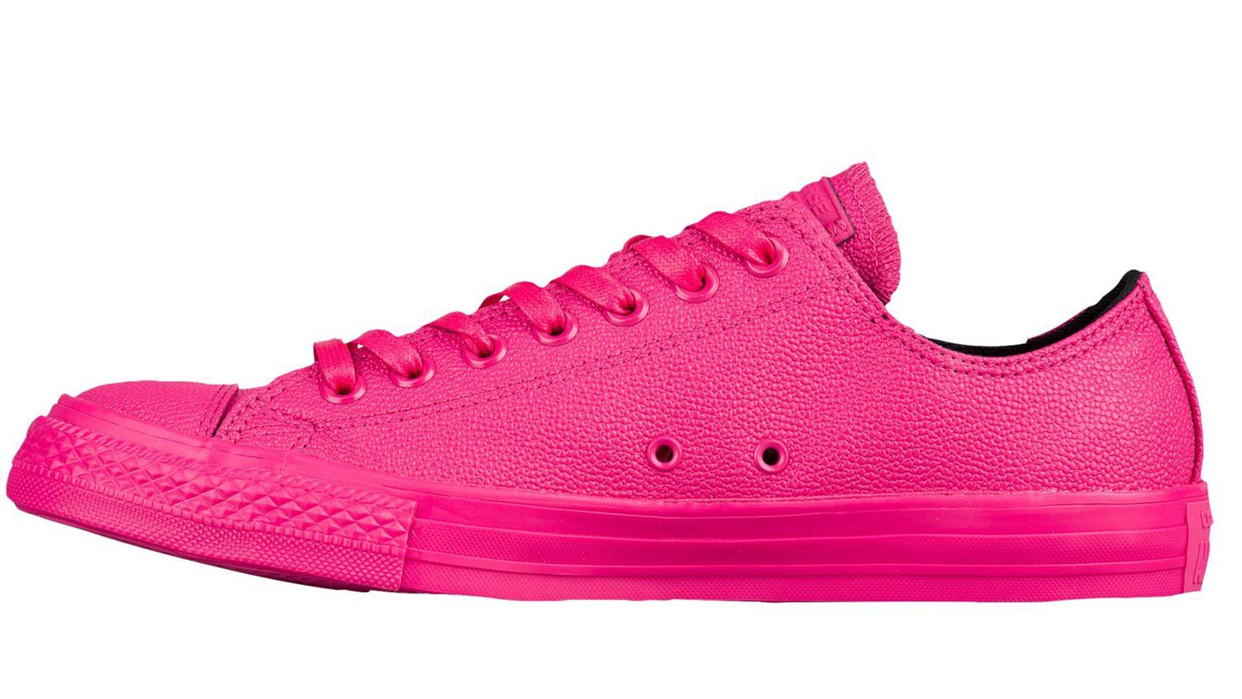 Converse Chuck Taylor All Star Lo Top Vivid Pink/Black/Vivid Pink Mens 3.5/Womens 5.5