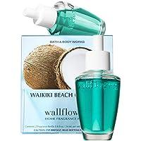 Bath and Body Works New Look! Waikiki Beach Coconut Wallflowers 2-Pack Refills