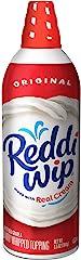 Reddi-wip Original Whipped Dairy Cream Topping, Keto Friendly, 6.5 oz.