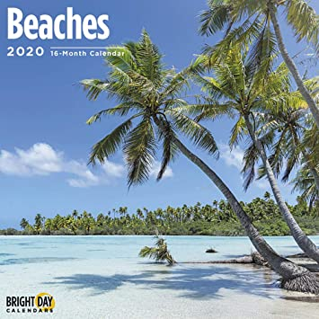 2020 Islands in the Sun 16-Month Wall Calendar By Sellers Publishing