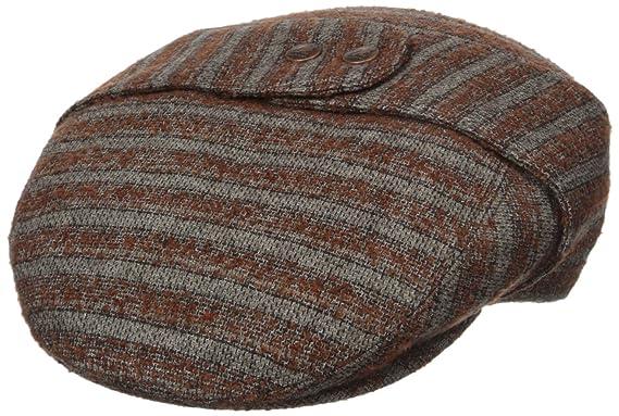 107f5e91c8a055 Kangol Men's Tweed Bugatti Cap at Amazon Men's Clothing store ...