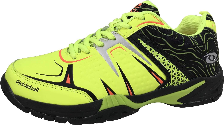 ACACIA HYPERSHOT Pickleball Outdoor//Indoor Court Shoes Mens Womens Unisex Grey//Orange Color