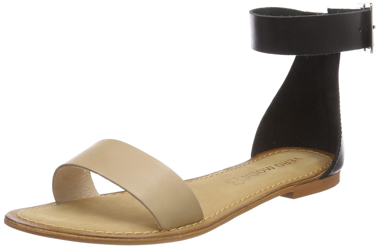 Womens Vmelsa Leather Ankle Strap Sandals Vero Moda euRftJhhYZ