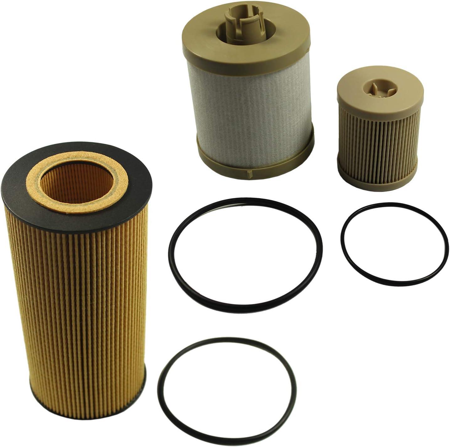 03-07 for Ford F250 F350 F450 Super Duty Powerstroke Billet Oil Fuel Filter Cap