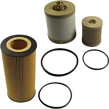 New fits Ford Fuel Filter Diesel 6.0 F250 F350 F450 Powerstroke FD-4604 FD-4616