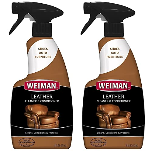 Weiman Leather Cleaner and Conditioner