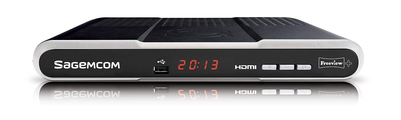 sagemcom dtr67320t freeview digital tv recorder 320gb amazon co rh amazon co uk
