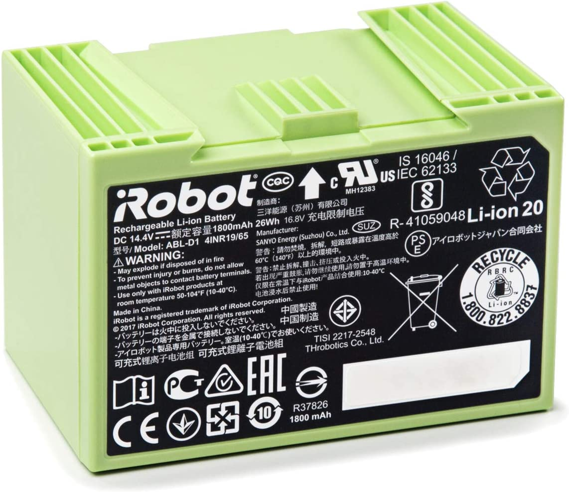 iRobot Roomba e and i Series Replacement Lithium Ion Battery