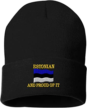 WORLDS BEST ESTONIAN Custom Personalized Embroidery Embroidered Beanie