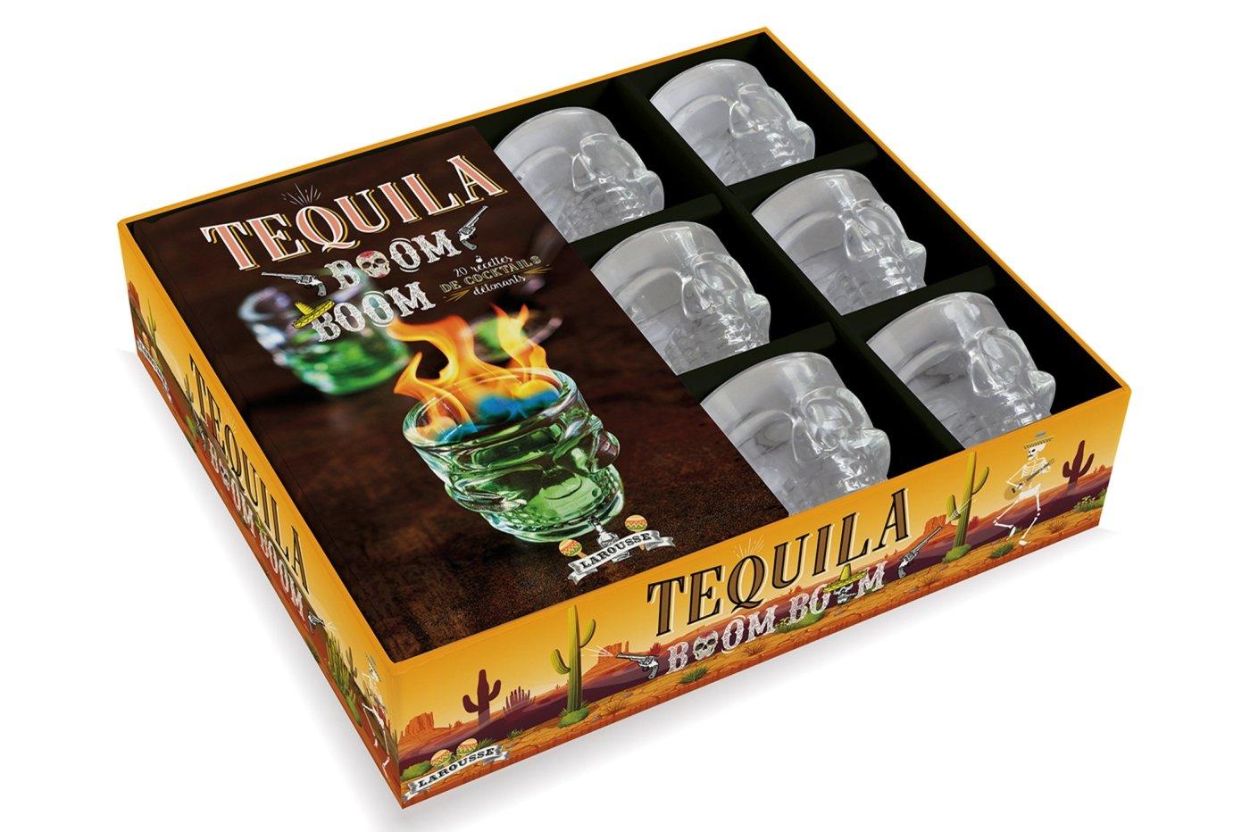 Tequila boom boom Coffret produits – 4 octobre 2017 Sandrine Houdré-Grégoire Larousse 2035933153 Cuisine