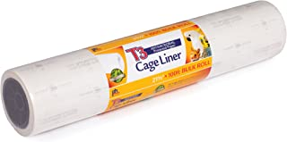 Prevue Hendryx Pet Products T3 Antimicrobial Cage Liner, 21-1/2-Inch by 100-Feet