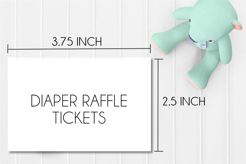 Halloween Baby Shower Raffle Game Halloween Baby Shower Supplies Scary Halloween Baby Shower Diaper Raffle Tickets Set of 50