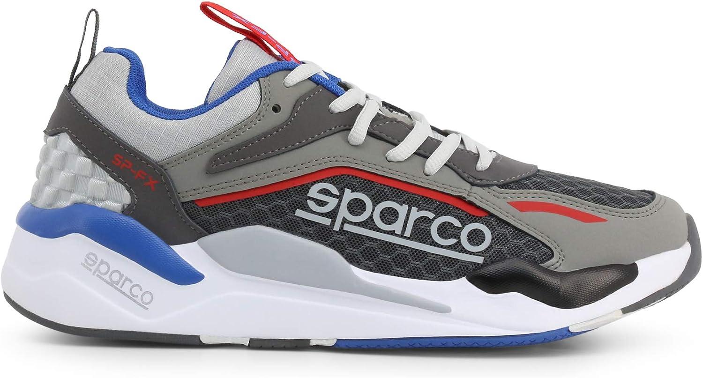43 EU, Gris-Blanc Baskets Mode Racing Homme Sparco SP-FX