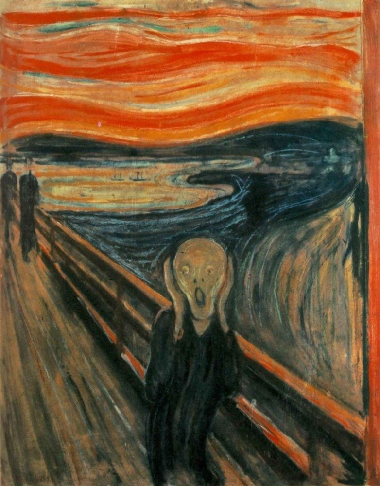 The Scream – 傑作クラシック – アーティスト: Edvard Munch C。1893 36 x 54 Giclee Print LANT-57261-36x54 B01M5ETG2R 36 x 54 Giclee Print36 x 54 Giclee Print