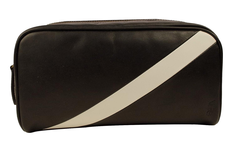 0894256644 Amazon.com  Polo Ralph Lauren Leather Banner Stripe Mens Shaving Carrier Bag   Polo Ralph Lauren  Clothing