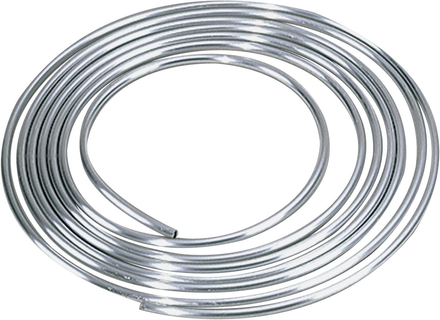 "Allstar ALL40180 3/8"" Diameter 25' Aluminum Coiled Tubing Fuel Line"