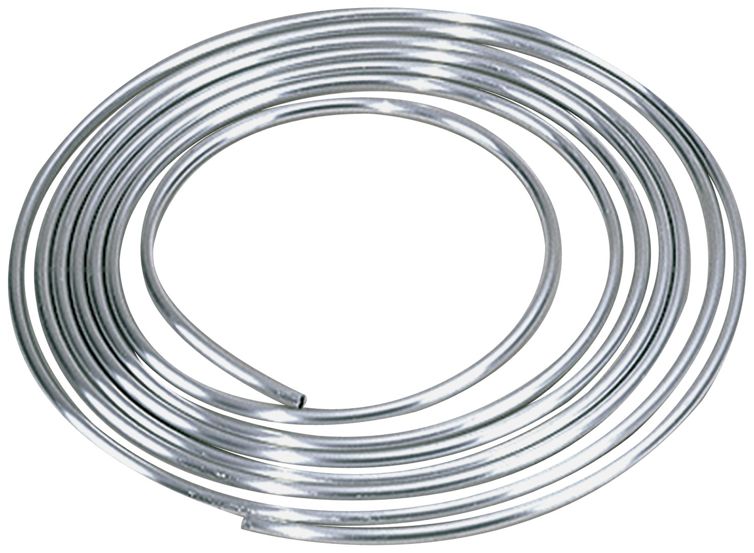 Allstar ALL40180 3/8'' Diameter 25' Aluminum Coiled Tubing Fuel Line