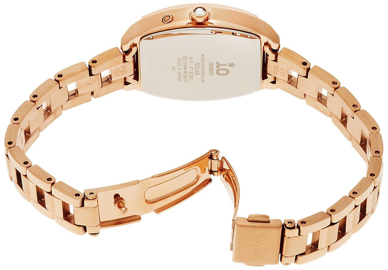 ORIENT watch iO Io costume jewelry Solar radio WI0151SD white WI0151SD Ladies by io (Image #2)
