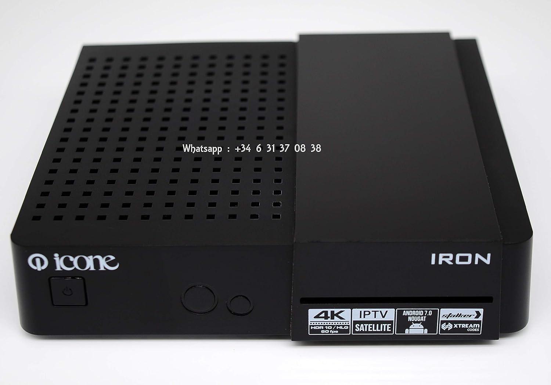 Icone Iron 4K UHD Satellite Receiver