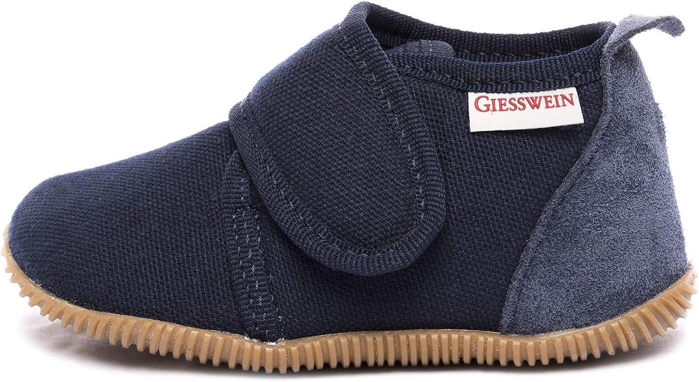 Giesswein Strass-Slim Fit Chaussons Montants Doubl/é Chaud Mixte Enfant Bleu 23 EU 548 Dunkelblau