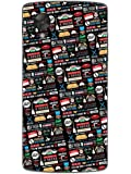 Nexus 5 Cases & Covers - FRIENDS - Icons And Graffiti - Designer Printed Hard Shell Case