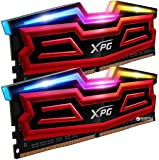 ADATA XPG Spectrix D40 RGB LED kit 32 GB (2 x 16 GB), DDR4, 3200 MHz (PC4 – 25600), CL16 Xmp 2.0, DIMM RAM