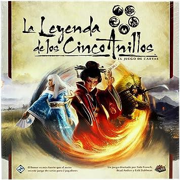 Oferta amazon: Asmodee - La Leyenda de los Cinco Anillos, juego de cartas (Fantasy Flight Games FFL5C01)