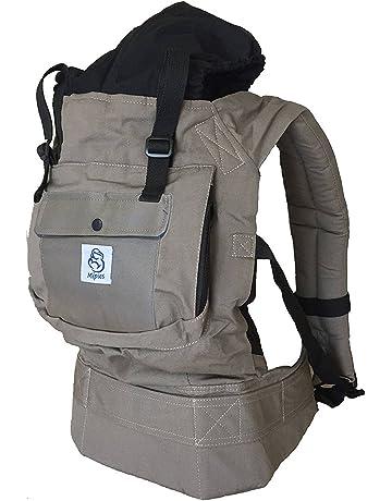 Mochila portabebes para llevar a tu bebe Manos libres - Portabebes de diseño Ergonómico con Múltiples