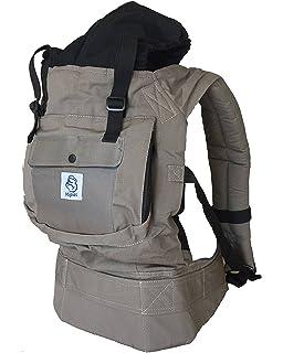 Porte-bébé pour porter votre bébé Mains libres - Porte bébé ergonomique  Multiples positions ☆ 907b245a66c